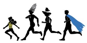Halloween fun run image